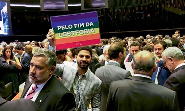 No Congresso Nacional, no dia de sua posse, em fevereiro deste ano (Foto: Divulgação)