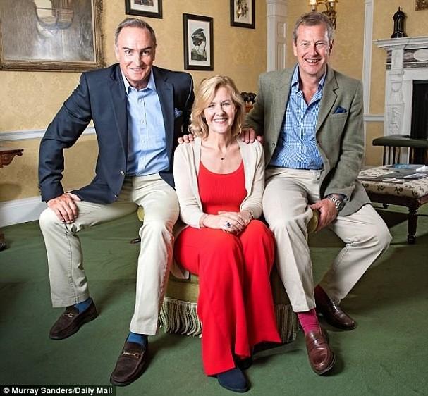 Ivar, James e Penelope (Foto: Reprodução/Daily Mail)