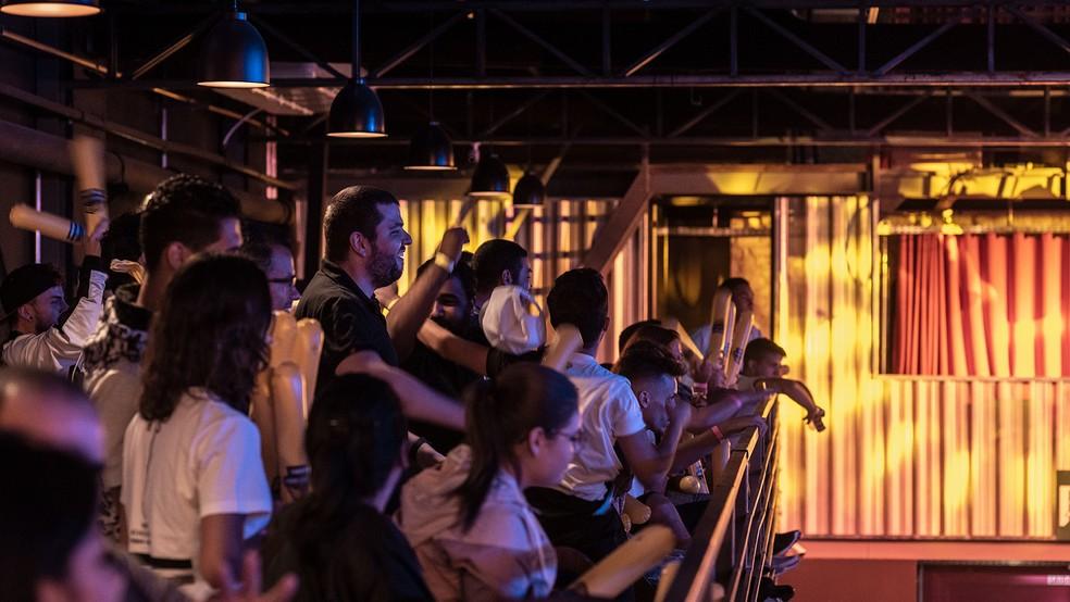Free Fire bateu recorde de audiência no YouTube — Foto: Divulgação/BBL/Leo Sang