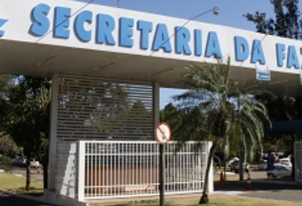 Secretaria da Fazenda de Goiás Sefaz GO — Foto: Reprodução/Sefaz