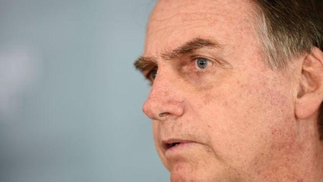 Jair Bolsonaro assumiu a Presidência em 1º de janeiro de 2019 (Foto: AFP via BBC News Brasil)