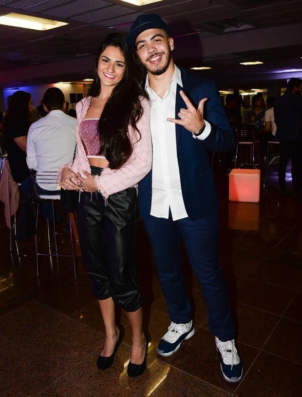 Ronald e Luiza Basile (Foto: Francisco Cepeda/AgNews)