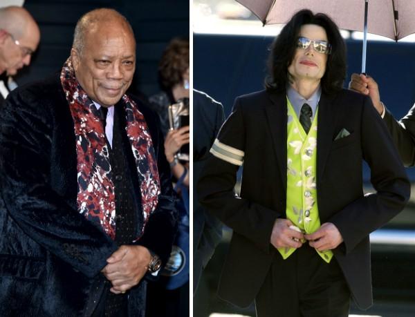 Quincy Jones e Michael Jackson (Foto: Getty Images)