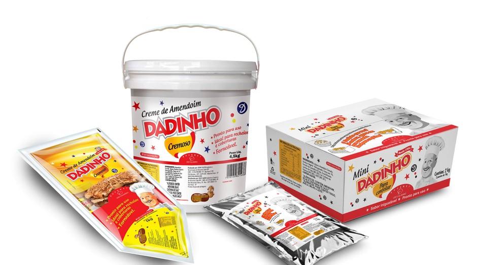 Dadinho linha de produtos (Foto: Divulgação)