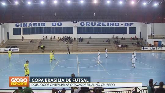 Itapoã e Guará avançam para as quartas de final da Copa Brasília de Futsal