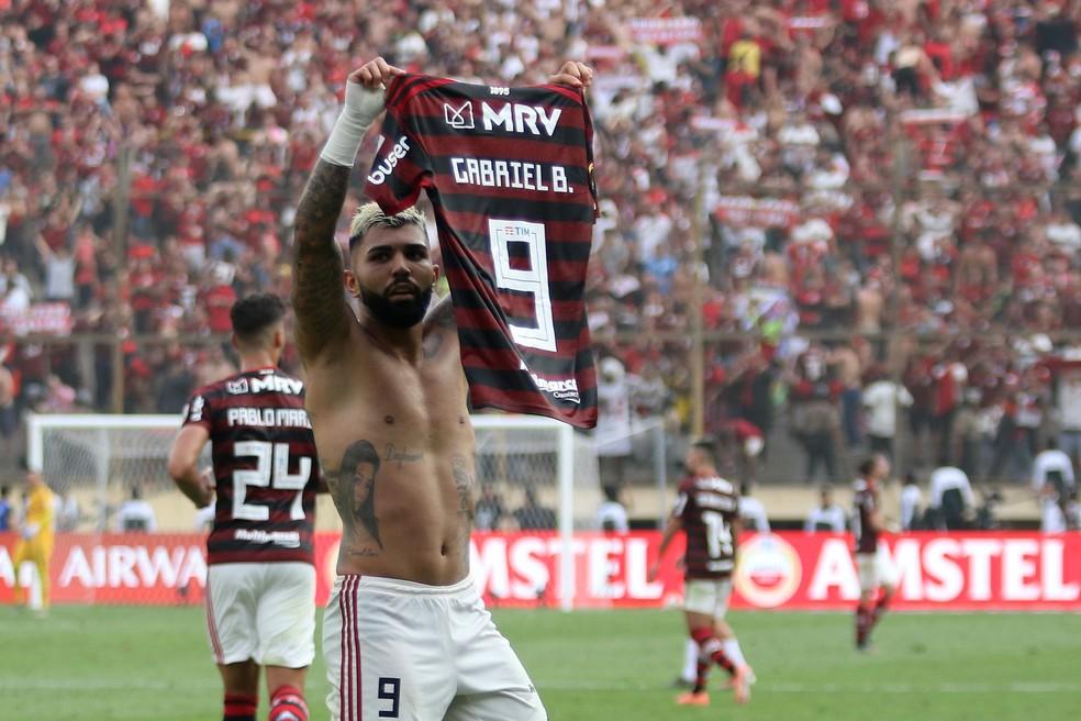 Gabriel e Flamengo estão perto de acerto para a permanência do jogador — Foto: Getty Images