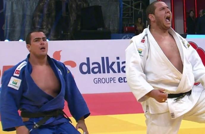 Rafael Silva vence David Moura no GP de Samsun (Foto: Reprodução / Twitter)