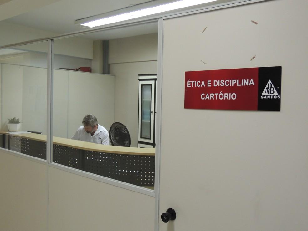 Tribunal Regional de Ética e Disciplina (Foto: Nathalie Monteiro – Assessoria OAB Santos)
