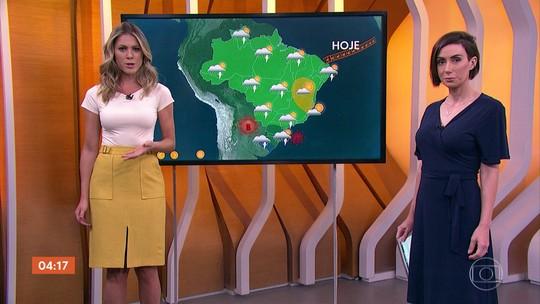 Previsão alerta para risco de temporal em Mato Grosso do Sul nesta sexta (18)