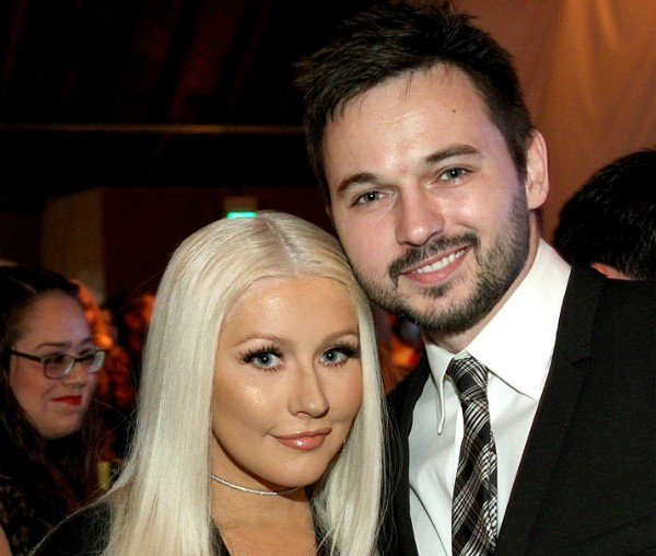 Christina Aguilera e Matthew Rutler (Foto: Getty Images)