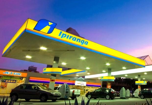 Posto Ipiranga, do Grupo Ultrapar (Foto: Divulgação)