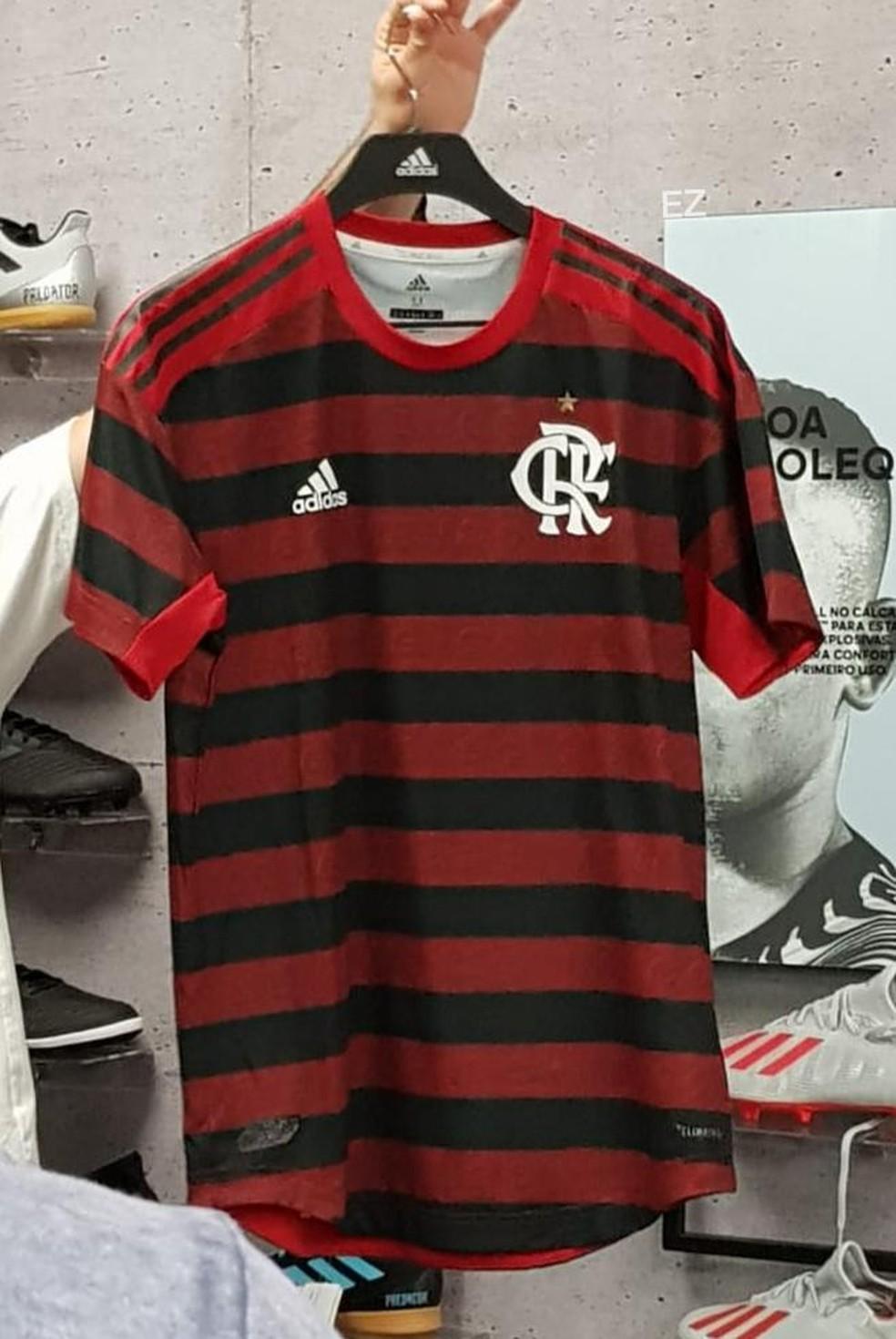Novo uniforme do Flamengo — Foto: Reprodução