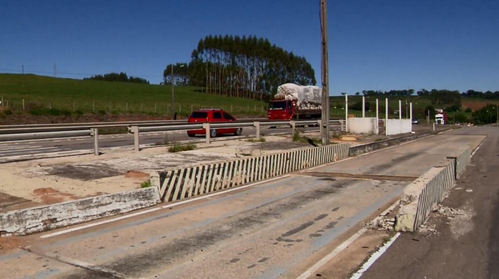 -  Falta de balanças de fiscalização traz riscos para motoristas em estradas do Sul de MG  Foto: Reprodução EPTV