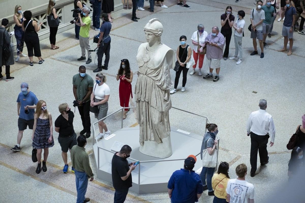 Nova York comemora reabertura do Metropolitan Museum   Pop & Arte