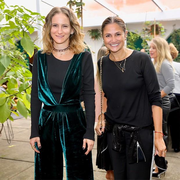 Flavia Brunetti e Cris Rudge (Foto: Manuela Scarpa/Brazil News)