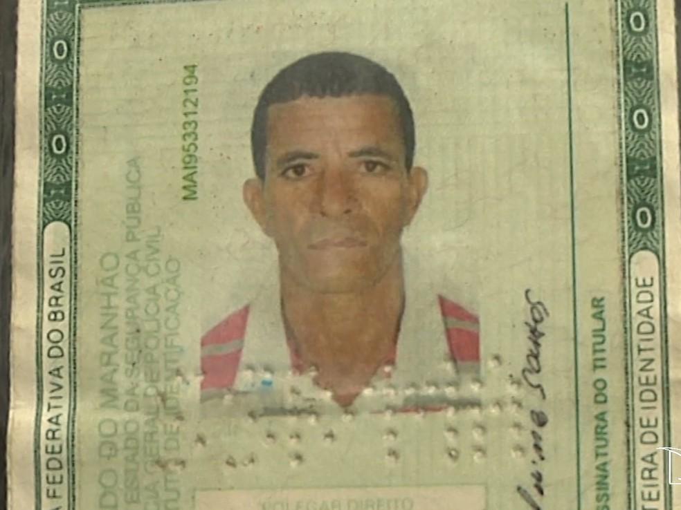 Lavrador Antônio Aldino Santos foi encontrado morto na Estrada de Ferro Carajás — Foto: Reprodução/TV Mirante