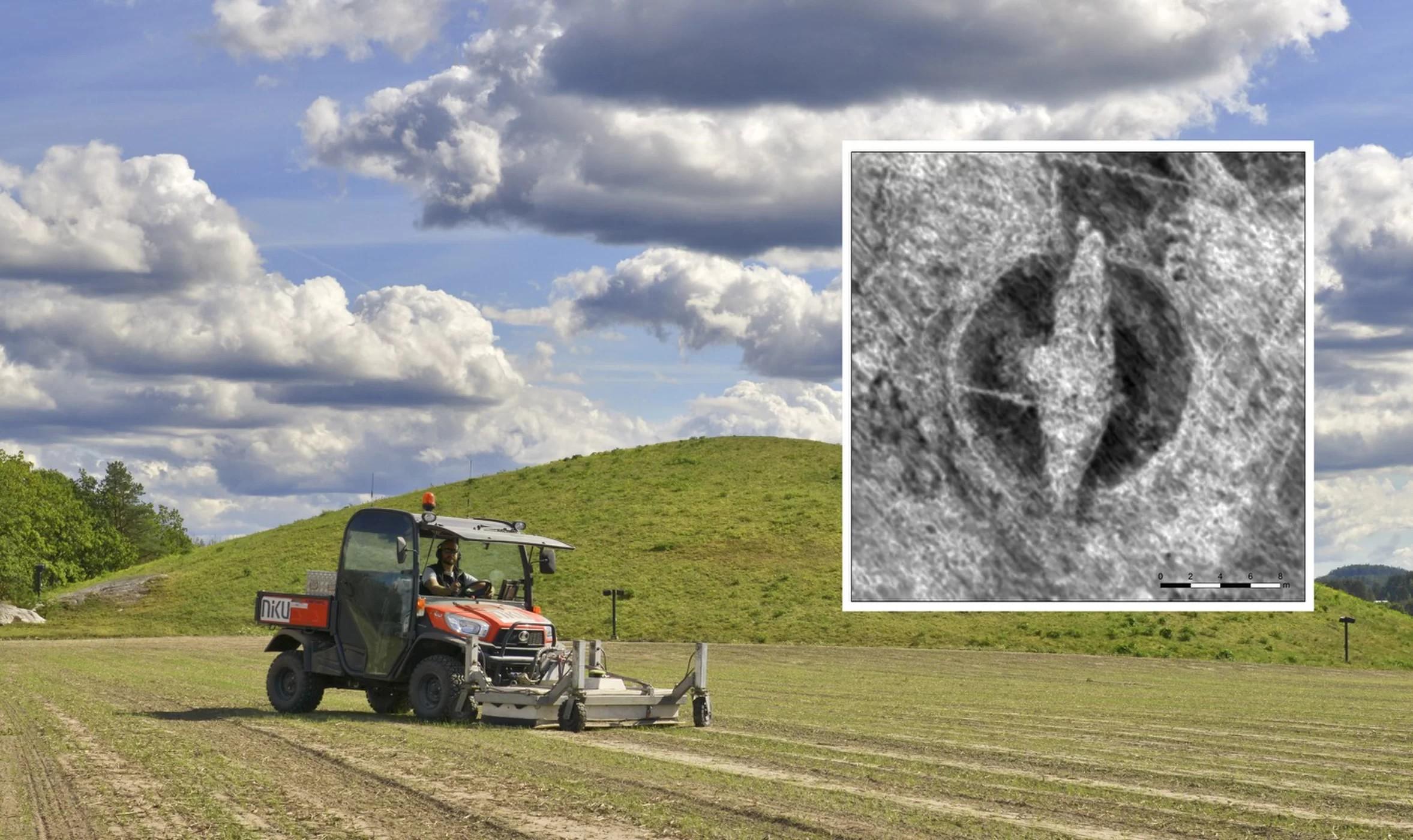 Os arqueólogos podem escavar a região no futuro (Foto: NIKU)
