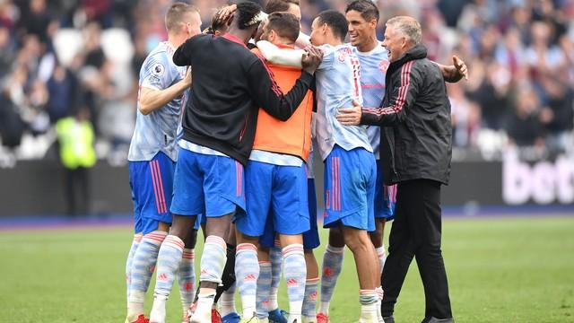 Manchester United conseguiu difícil vitória fora de casa contra o West Ham
