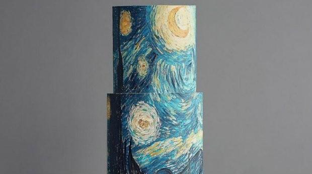 Bolo inspirado em quadro clássico do Van Gogh (Foto: Reprodução)
