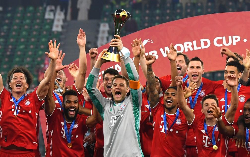 Bayern de Munique conquistou o Mundial de Clubes ao vencer o Tigres, do México — Foto: Getty Images