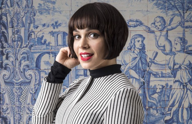 É Sabrina Petraglia, que interpreta Olímpia em 'Tempo de amar'.  (Foto: João Miguel Júnior/TV Globo)