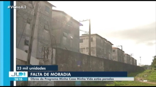 19 das 42 obras do Minha Casa, Minha Vida estão paradas no Pará, diz sindicato