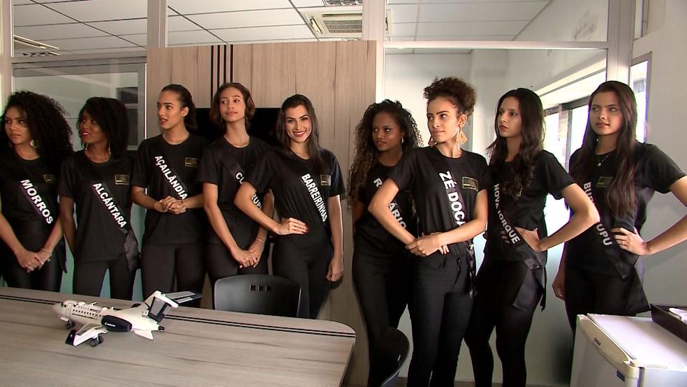 Misses contaram sobre a expectativa para o concurso deste ano (Foto: Reprodução/TV Mirante)