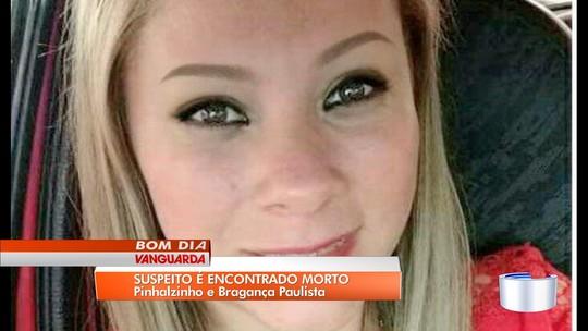 Marido de jovem assassinada a facadas em Bragança Paulista é encontrado morto