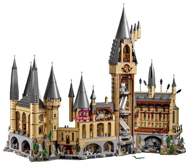 Castelo de Hogwarts ganha versão LEGO (Foto: Divulgação)
