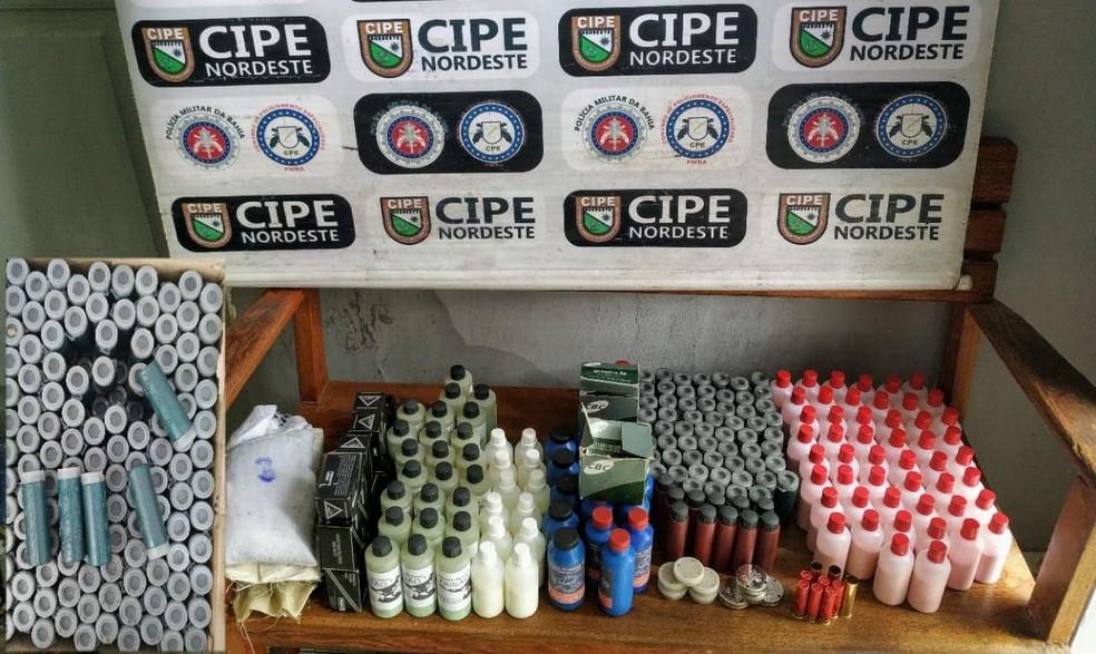 Resultado de imagem para Fábrica clandestina de munições é desmontada na cidade de Monte Santo, na Bahia