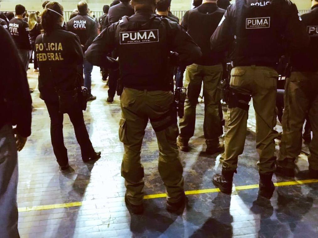 Operação de combate à corrupção no sistema penitenciário é realizada em Muriaé
