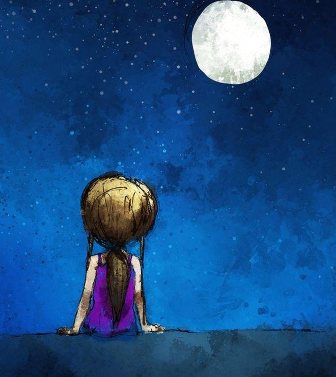 A Lua está se distanciando de nós, na Terra? (Foto: Getty Images via BBC)
