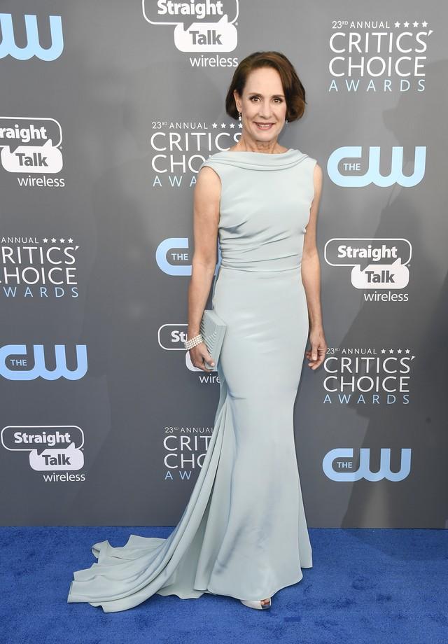 Laurie veste Cristina Ottaviano no Critics' Choice Awards 2018 (Foto: Getty Images)