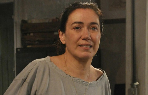 Na quinta (21), Renê (Dalton Vigh) vai procurar Griselda (Lilia Cabral) para marcar um encontro com ela  (Foto: TV Globo)