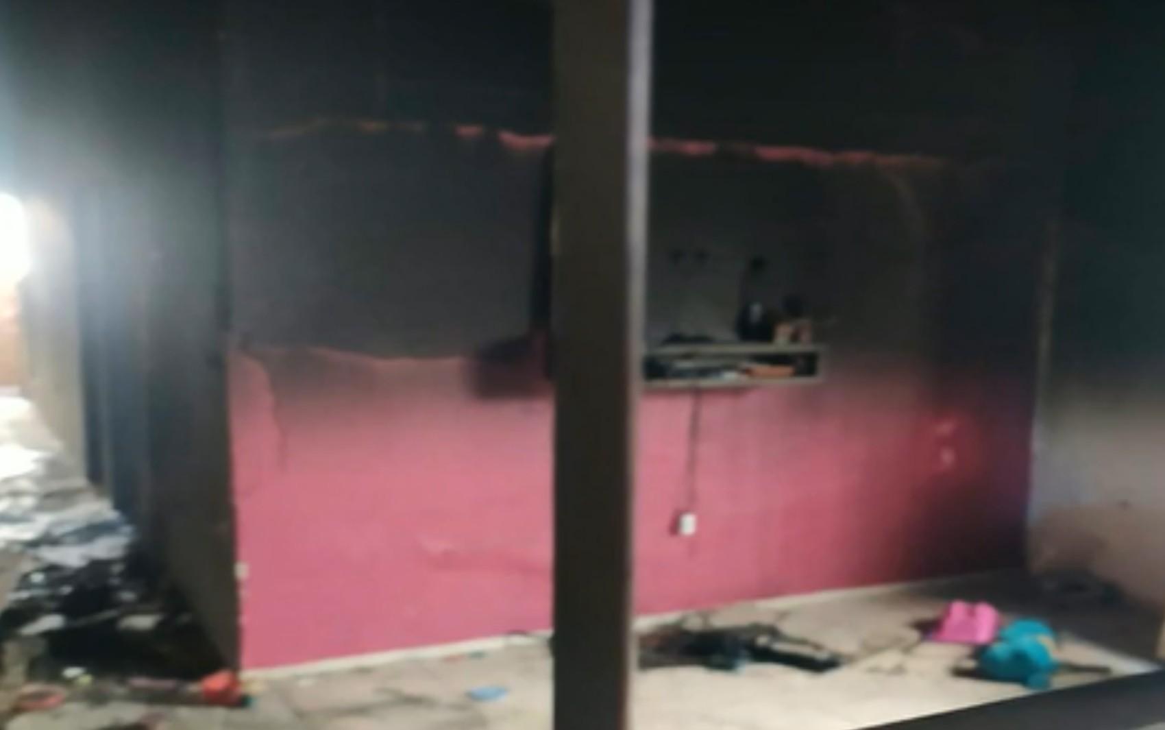 Polícia prende suspeito de incendiar casa da ex com os filhos dentro, em Novo Gama