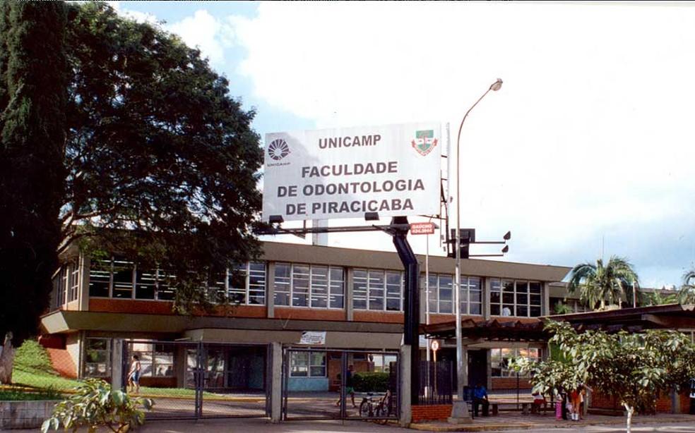 A Faculdade de Odontologia da Unicamp, em Piracicaba  — Foto: Cesar Maia/FOP Unicamp/arquivo