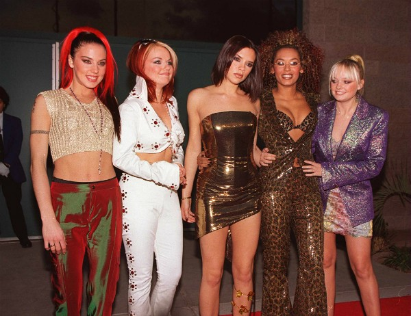 As Spice Girls em 1997 (Foto: Getty Images)