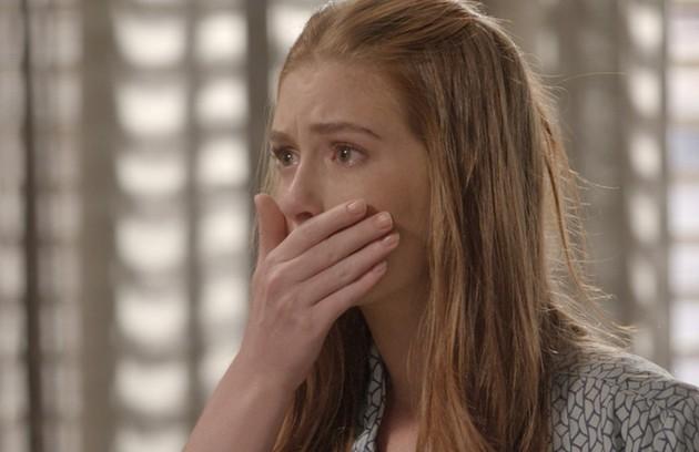 Na quarta-feira (7), Eliza doa parte do seu fígado e salva a vida de Jonatas (Foto: TV Globo)