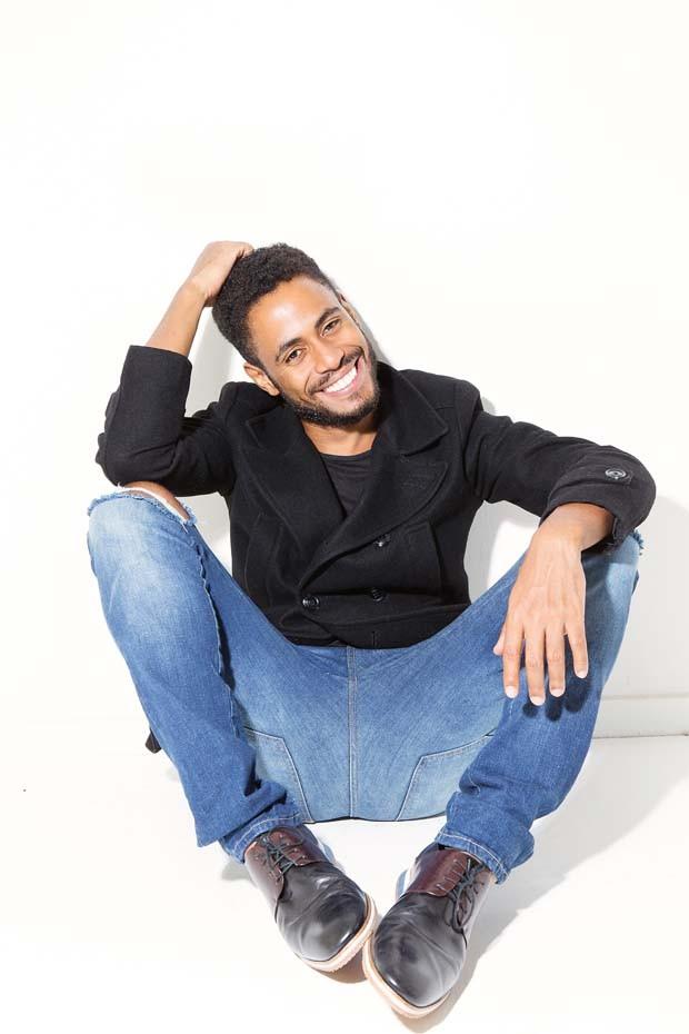 O cantor, ator e multiartista Ícaro Silva (Foto: Chico Cerchiaro)