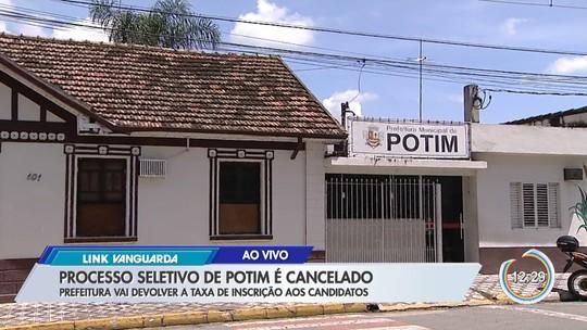 Após ação do MP, Prefeitura de Potim cancela processo seletivo de professores