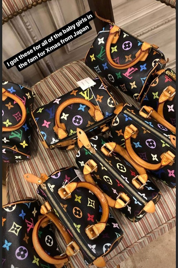 Bolsas escolhidas por Kim Kardashian para presentear sobrinhas (Foto: Divulgação)