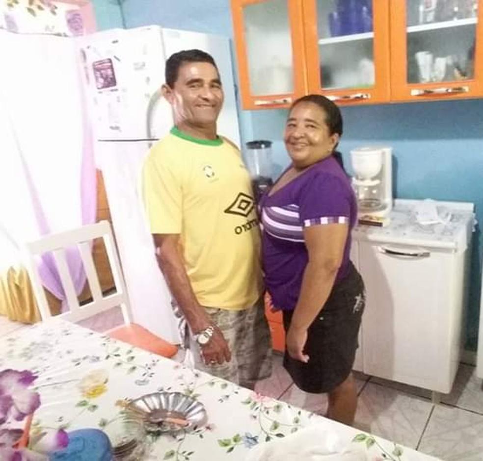 Auxiliadora trabalhava no lar e Severino em uma usina — Foto: Arquivo familiar/Cedida