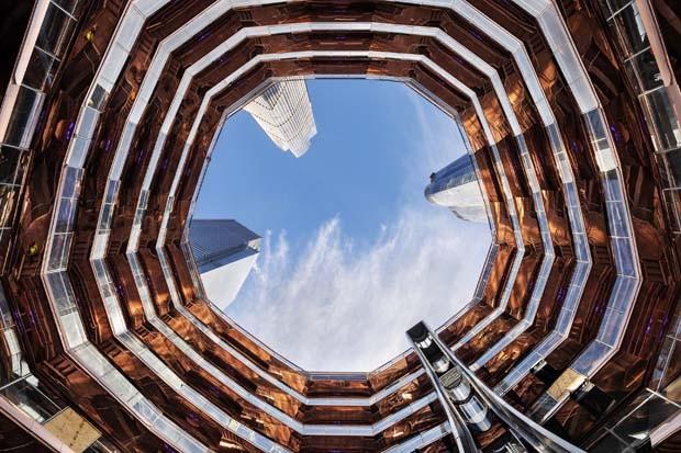 Arca de 45 metros de altura é inaugurada em NY (e as vistas são deslumbrantes)