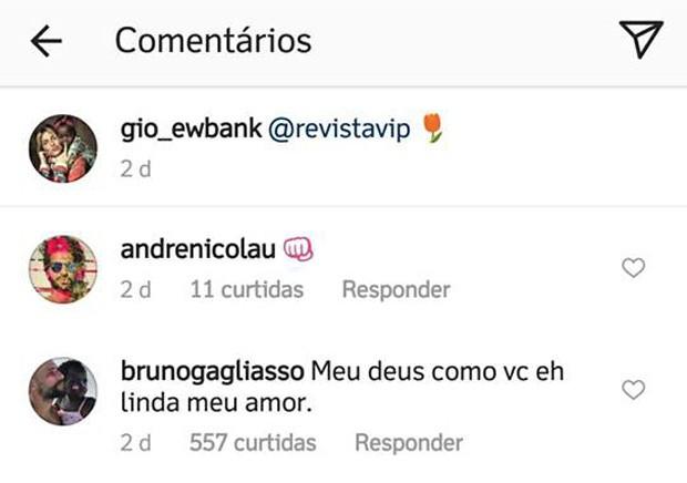 Bruno Gagliasso se declara a Giovanna Ewbank (Foto: Reprodução/Instagram)