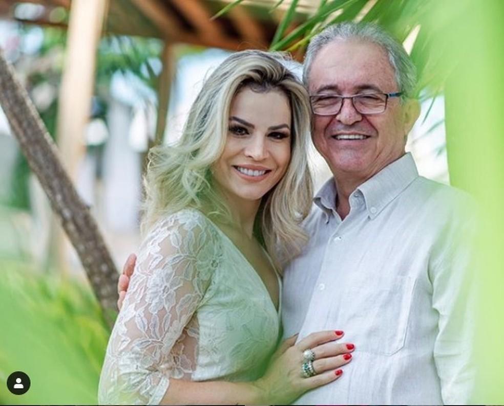 Lidiane Campos, mulher do ex-deputado federal Adilton Sachetti (PRB-MT) — Foto: Instagram/Reprodução