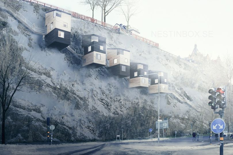 Residências do projeto Nestinbox