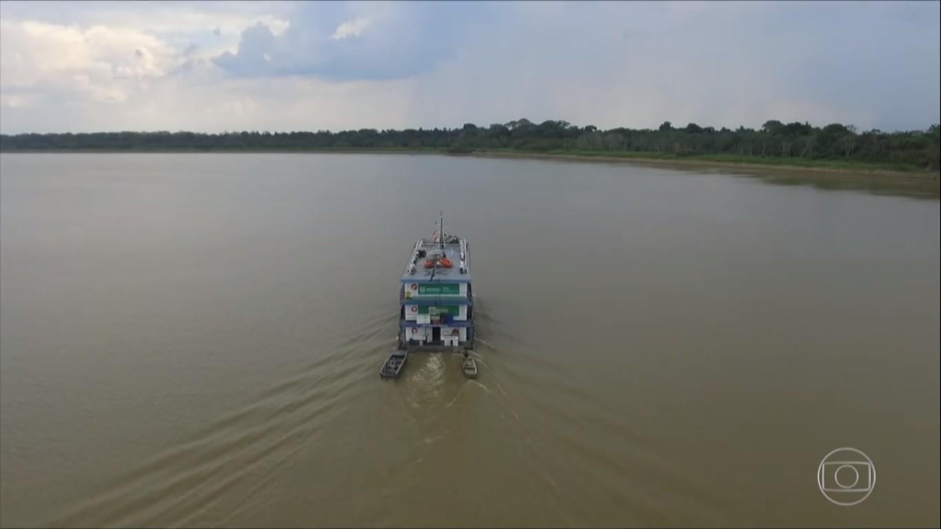 Médicos voluntários percorrem rios de RO para atenderem indígenas e ribeirinhos durante a pandemia