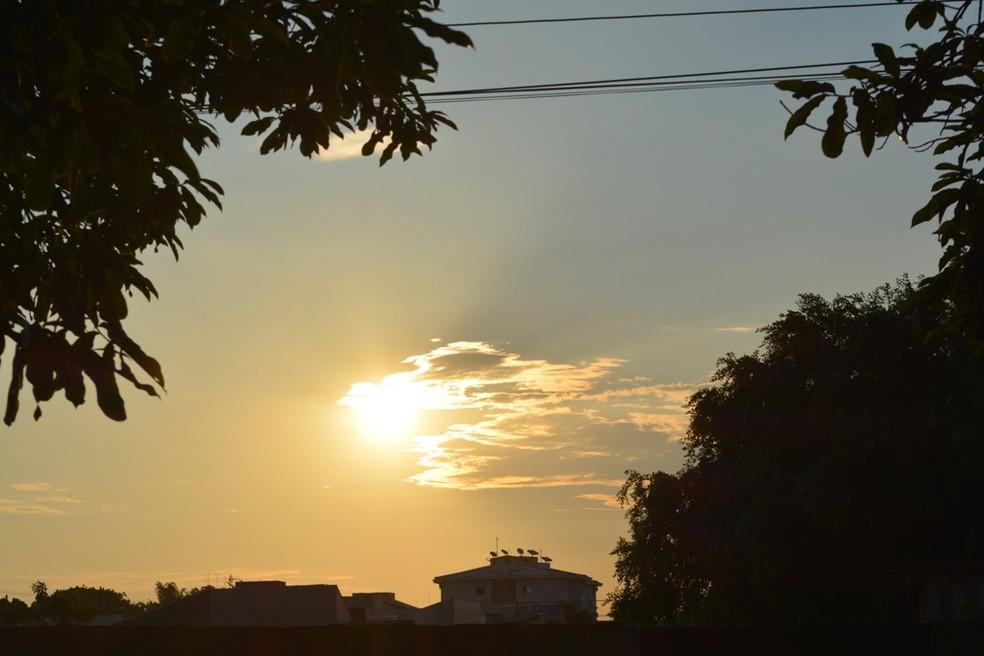 Veja como fica o tempo em Rondônia neste sábado, segundo Sipam — Foto: Jonatas Boni/ G1