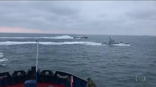 Rússia teme escalada na tensão na região da Crimeia após Ucrânia aprovar lei marcial