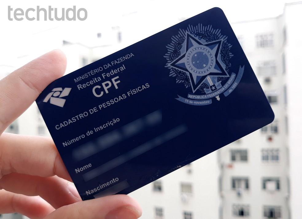 Veja como alterar dados cadastrais do CPF pela Internet — Foto: Ana Letícia Loubak/TechTudo